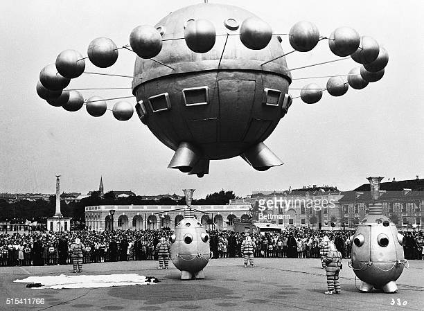 11/7/1952 In the asyet unnamed Austrian satirical movie dealing with political life in the year 2 a sevenmember World Defense Commission lands in a...