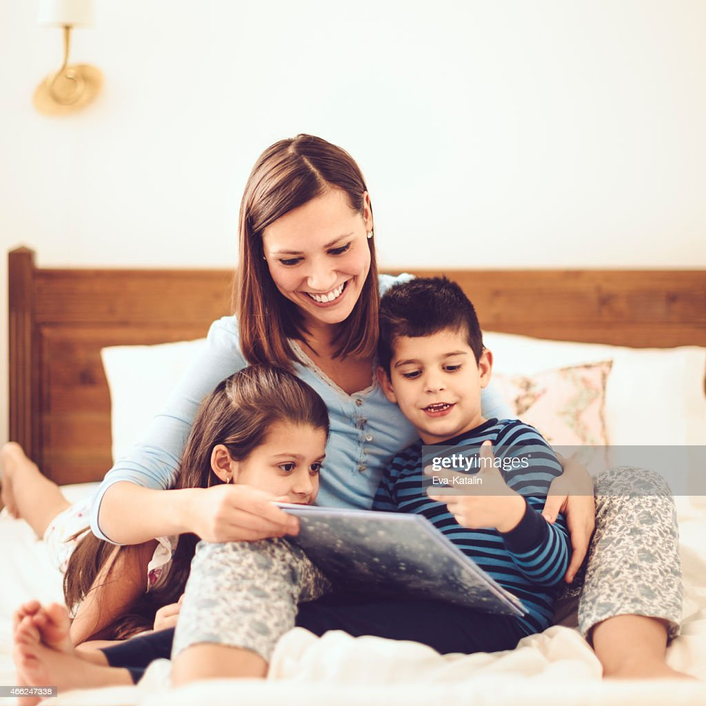 In the bedroom : Stock Photo