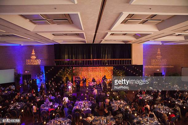 In the Blackburn Center Ballroom on the campus of Howard University in Washington DC USA on 25 October 2016 Ms Cathy Hughes Founder and Chairperson...