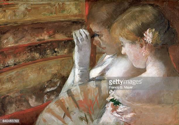 In the Box by Mary Cassatt