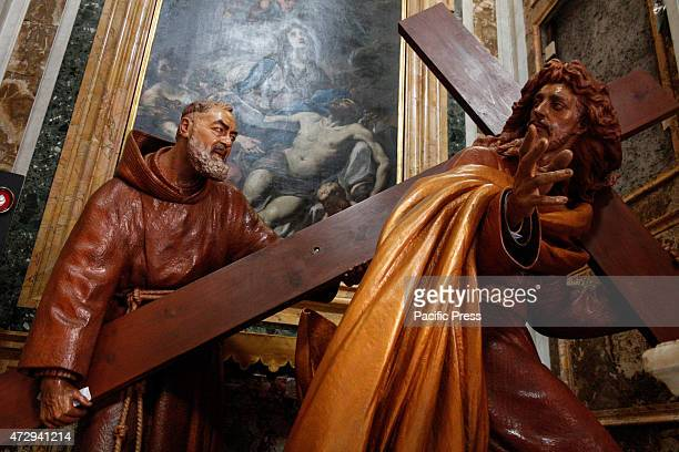 In the Catholic Church of St Saviour in Laurel in Rome they are kept the relics of St Padre Pio of Pietrelcina and Blessed John Paul II