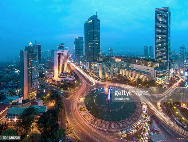 In the center of Jakarta.