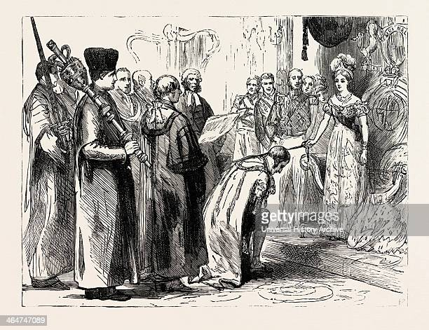 In The City Nov 9 Her Majesty Knighting Sir Moses Montefiore