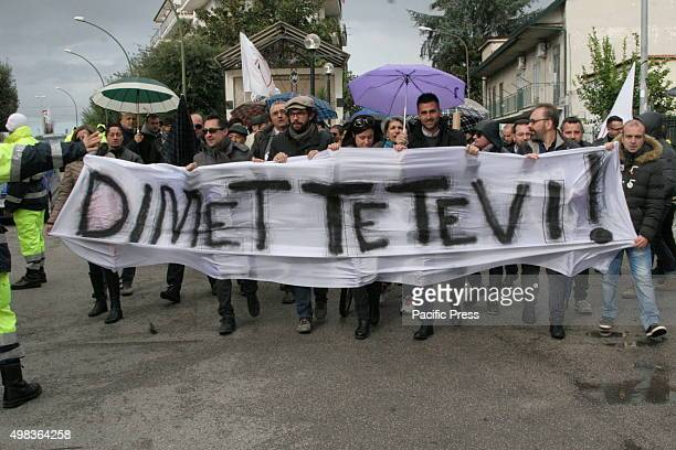 In the city of Grumo Nevano, people staged a procession for legality in raising awareness of the law, against any form of corruption and crime. It...