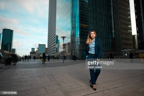 ceo in the city - hands in pockets stock pictures, royalty-free photos & images