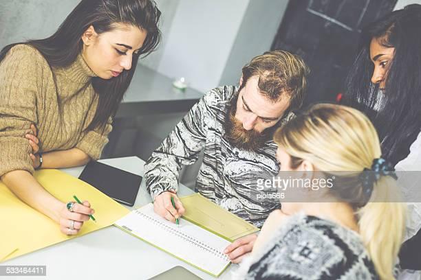 In the creative designers studio