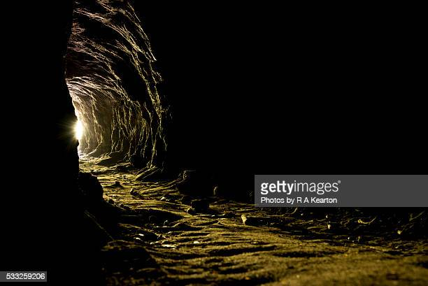 In the deep dark cave
