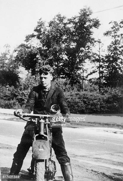 In the fall of 1920 Lindbergh rode his Excelsior motorcycle from the farm to Madison Wisconsin to enter the University of Wisconsin probably more...