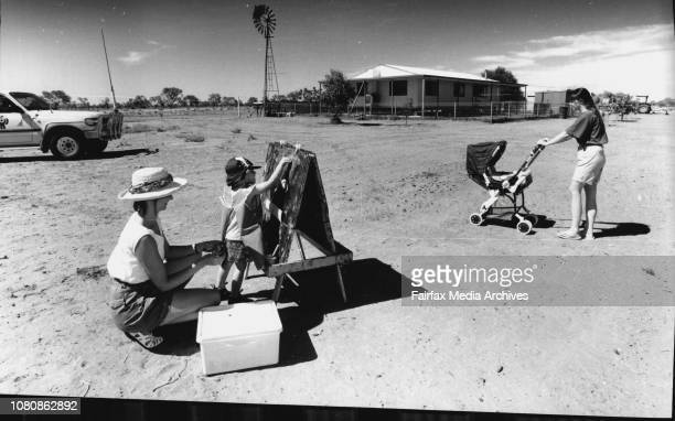 In the far western NSW town of Wanaaring a small Mobile School operates The Mobile School is taken to remote properties where small children have...