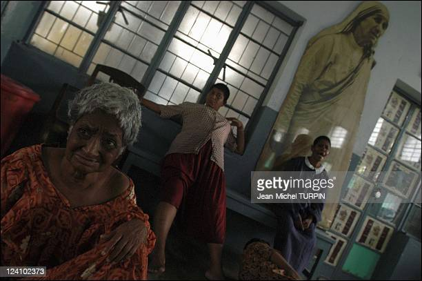 In the footsteps of Mother Teresa In Calcutta India In September 2003 Shantidan home the mentally ill section