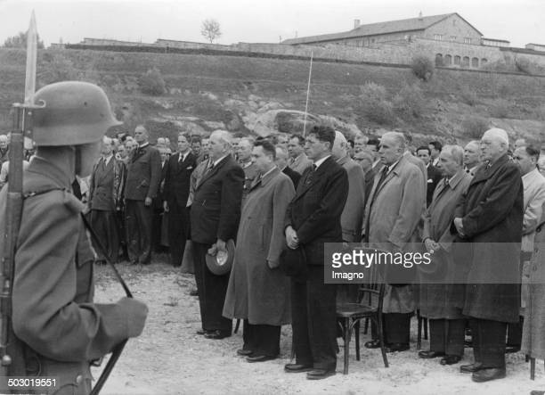In the former concentration camp Mauthausen a memorial stone was placed for the 32000 murdered Russians The formal adoption into the custody of the...