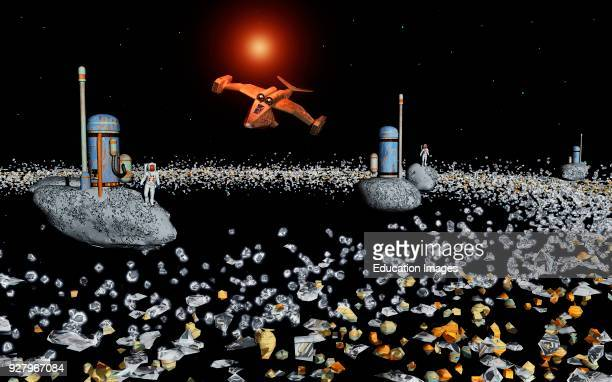 In The Future Mankind Will Mine The Vast Number Of Mineral Metal Rich Asteroids In Our Solar System