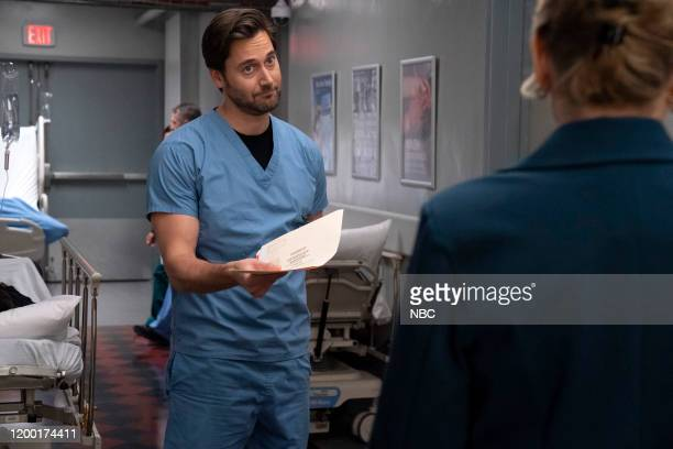 NEW AMSTERDAM In The Graveyard Episode 213 Pictured Ryan Eggold as Dr Max Goodwin