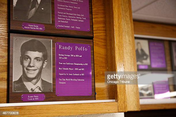 In the hall of the Downers Grove North High School's athletic department hangs a 1971 Hall of Fame placque honoring Randy Poffo who became...