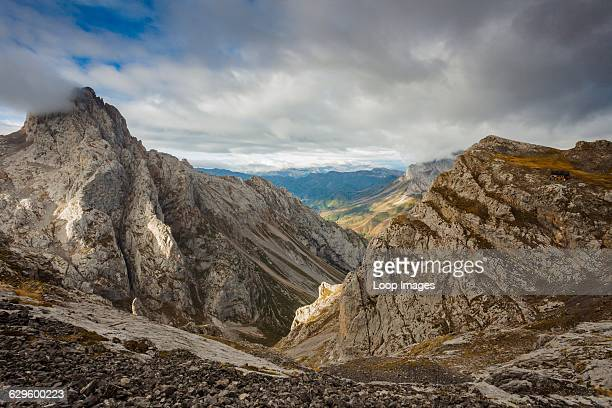 In the heart of Picos de Europa National Park Cordinanes de Valdeon Spain