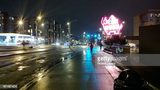 CONTENT] In the heart of Seattle spins a pink neon light elephant beckoning you to wash your car
