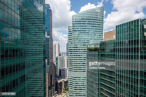 In the heart of Singapore's Central Business District