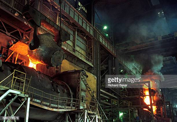 In the heat and dust of a postcommunist industrial mill we see a Bulgarian copper manufacturing process made small against the scale of the Pirdop...
