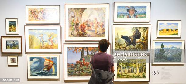 In the Hell of the German concentration camps there were also art works made by prisoners For the first time nearly 200 drawings graphics and images...