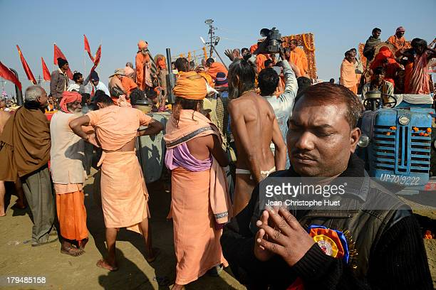 CONTENT] In the hustle and bustle of Maha Kumbh Mela festival a lonely pilgrim is praying The Kumbh Mela is the biggest hindu pilgrimage and the...