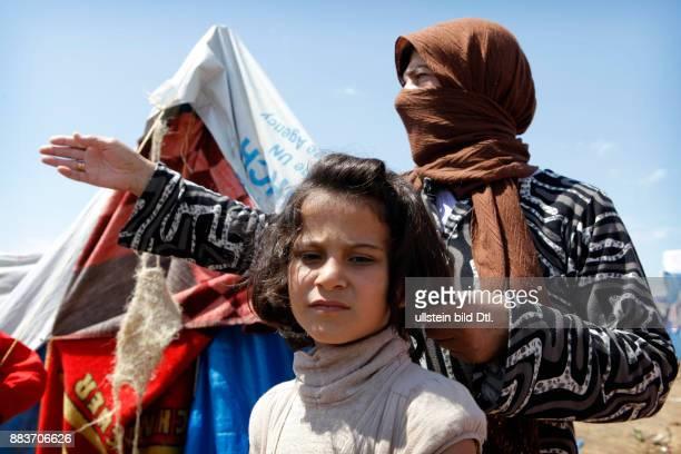 In the Kurdish dominated north of Irak Syrian Kurdish people from Al Qamishli are sheltered
