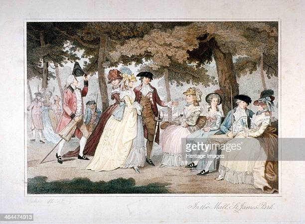 'In the Mall St James's Park' Westminster London 1788