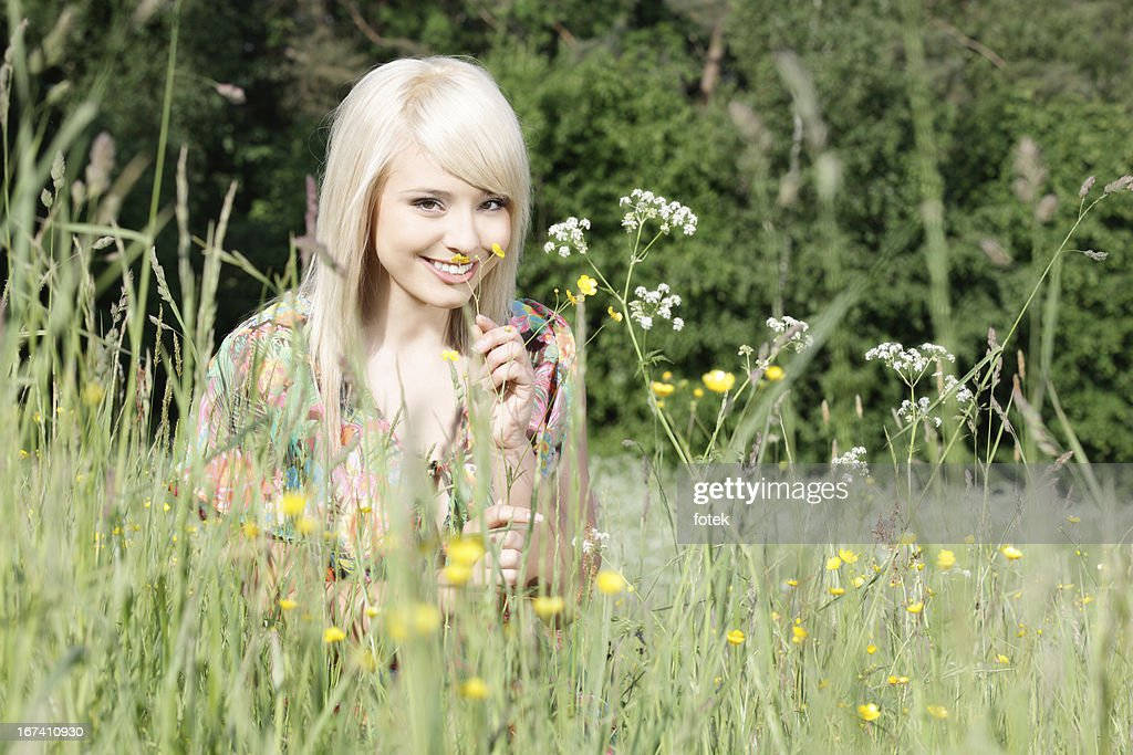 In the meadow : Stock Photo