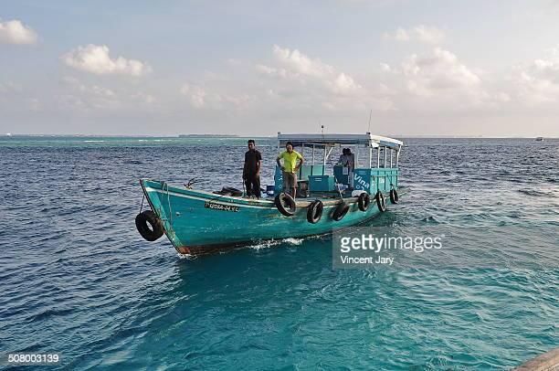 CONTENT] In the middle of Maldives island boat fisher Maldive