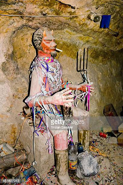 "In the mines of highland Bolivia, ""El Tío"" is the familiar name for the spirit owner of the mountain, who is also known as Huari or Supay. The words..."