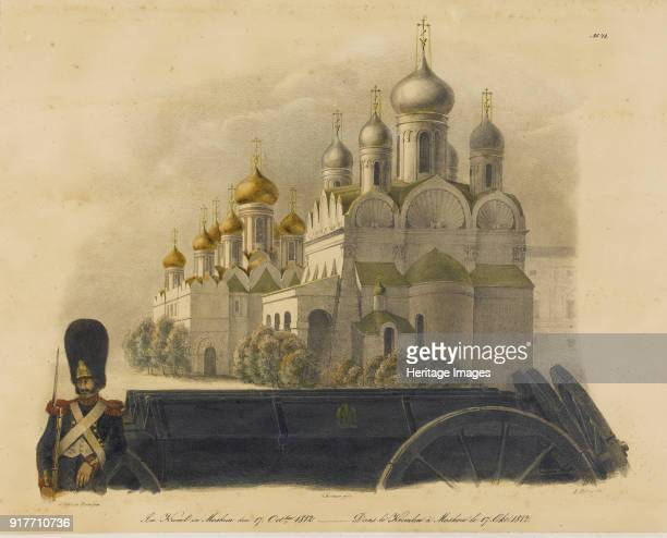 In the Moscow Kremlin on October 17, 1812. Private Collection.