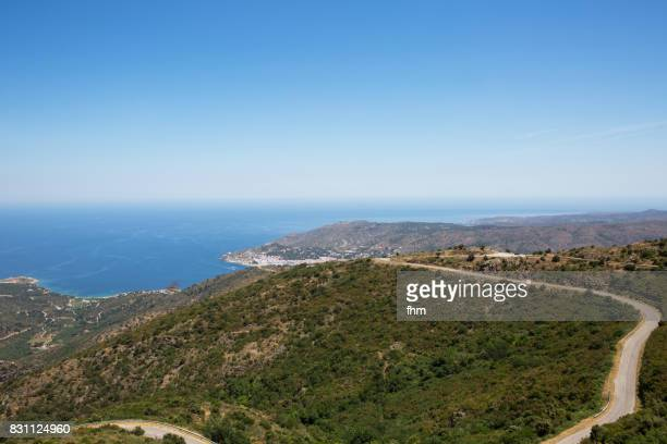 In the mountains near El Port de la Selva/ Spain - with mediterranean sea view (Catalonia/ Spain)