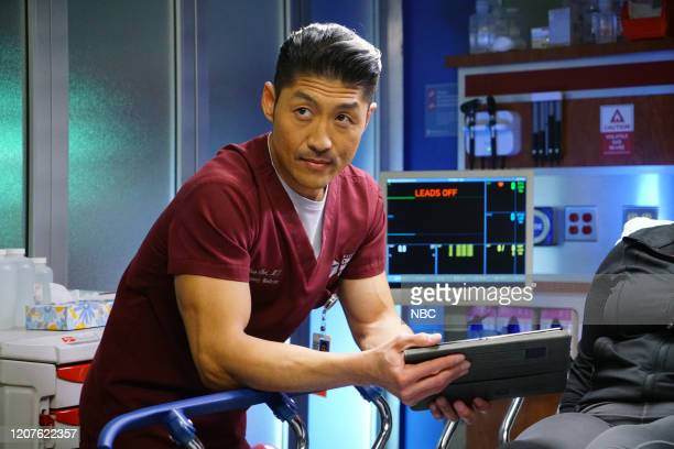 MED In The Name Of Love Episode 518 Pictured Brian Tee as Ethan Choi