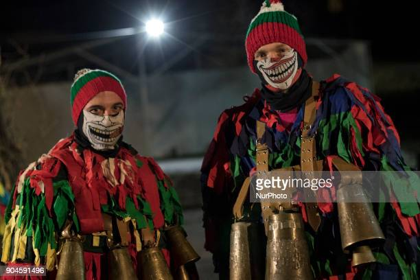 In the night of the 13th to the 14th of January in the village Elovdol of the Pernik region Bulgaria the loud sound of hundreds of copper and bronze...
