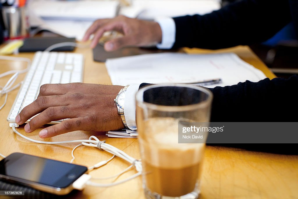 In the office : Stock Photo