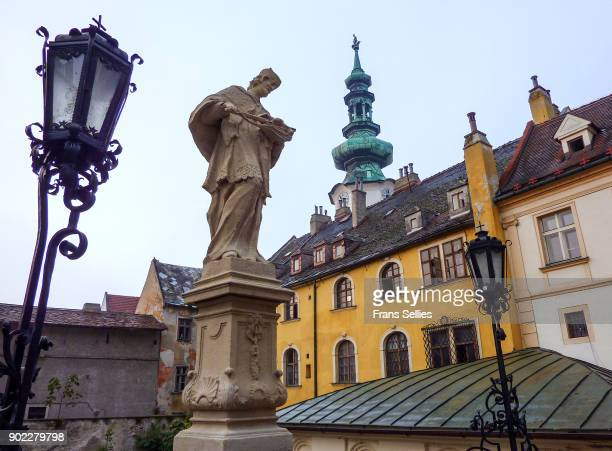 In the old town of Bratislava, Slovakia