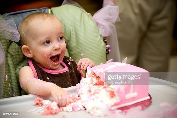 mensagens instantâneas! - first birthday imagens e fotografias de stock
