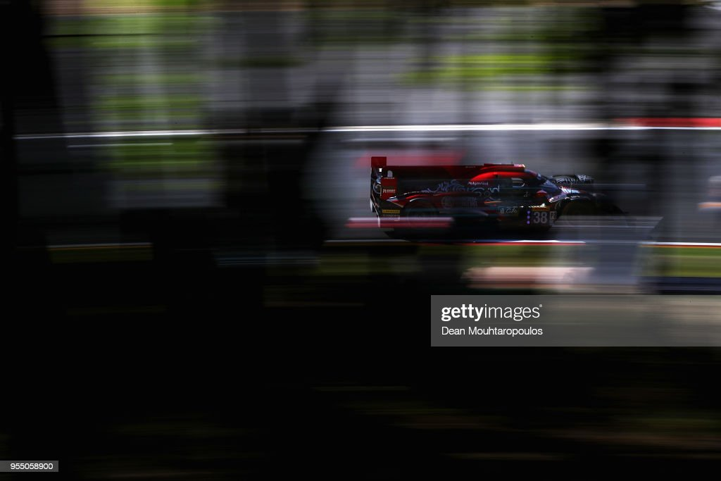 RACING in the Oreca 07 - Gibson driven by Ho-Pin Tung of the Netherlands, Gabriel Aubry of France, Stephane Richelmi of Monaco competes in the WEC 6 Hours Of Spa-Francorchamps Race at Circuit de Spa-Francorchamps on May 5, 2018 in Spa, Belgium.