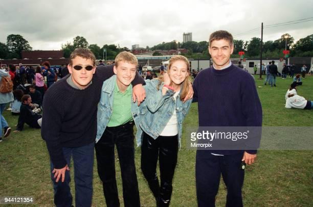 T in the Park Music Festival Strathclyde Park Lanarkshire Scotland 13th July 1996 Eastenders Actress Nicola Stapleton aka Mandy Salter