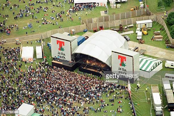 T in the Park Music Festival Strathclyde Park Lanarkshire Scotland 14th July 1996 Aerial Scenes