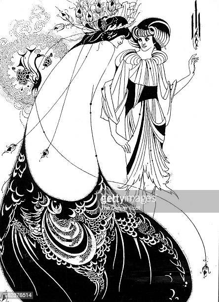 NOV 7 1974 NOV 10 1974 In The Peacock Skirt a decoration for the published version of Oscar Wilde's Salome Aubrey Beardsley hit off the flowing lines...