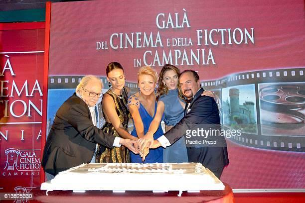 In the picture: Antonio Casagrande, Shalana Santana, Valeria della Rocca, Giulia Andò and Maurizio Casagrande during the eighth edition of the Gala...