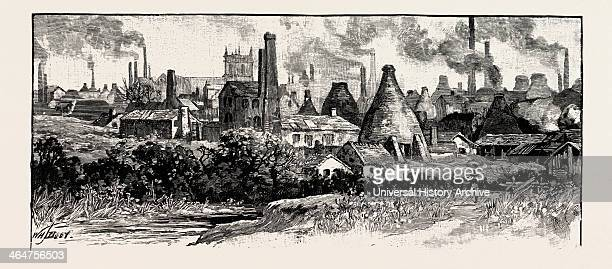 In The Potteries UK The Stokeontrent Area Known As The Staffordshire