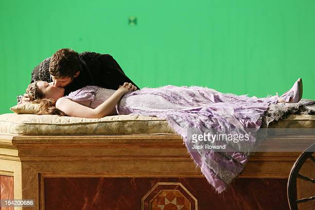 """In the premiere episode, """"Broken,"""" reality and myth begin to merge as the fairytale characters awaken from Evil Queen Regina's broken curse and..."""