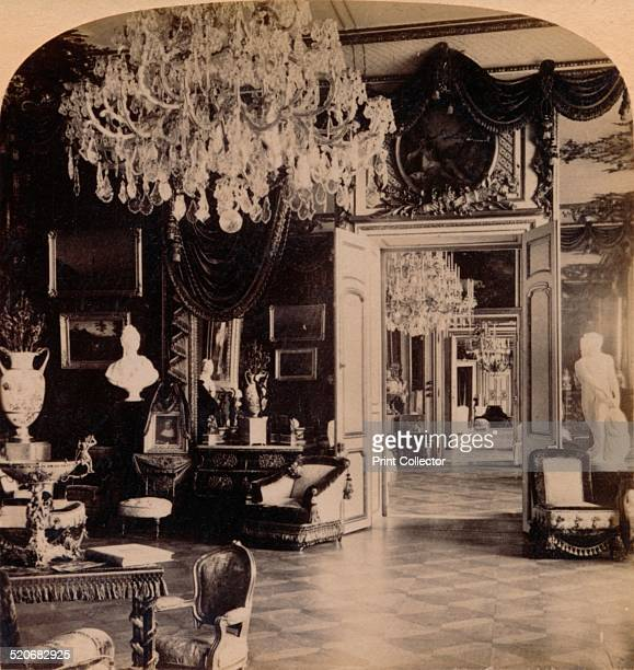 In the Queen's Reception Rooms Royal Palace Stockholm Sweden 1897 The Stockholm Palace or the Royal Palace is the official residence of the Swedish...