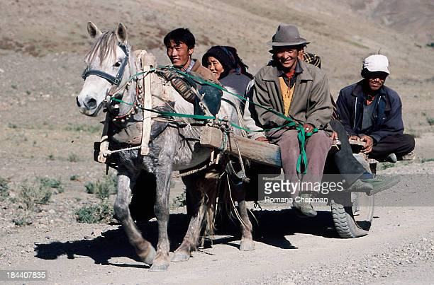 In the rural countryside of Tibet, one still depends on animal and cart for reliable mass transport. Nearer to the cities, petrol is readily...