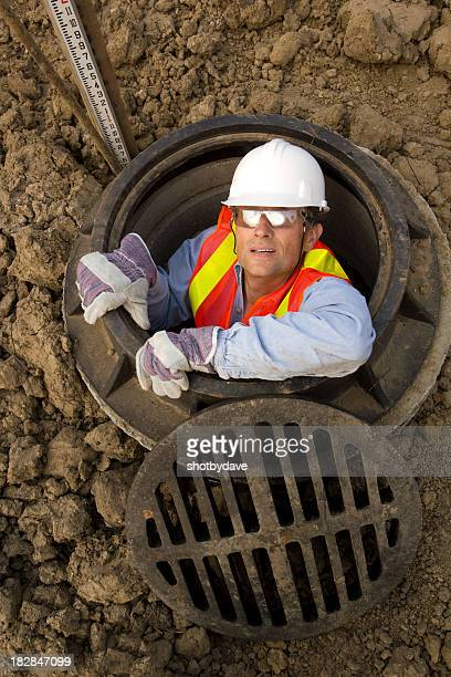 in the sewer - sewer stock pictures, royalty-free photos & images