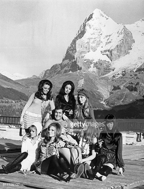 In the shadow of the icy Eiger filmdom's new James Bond Australianborn George Lazenby establishes a warm relationship with seven of the latest Bond...
