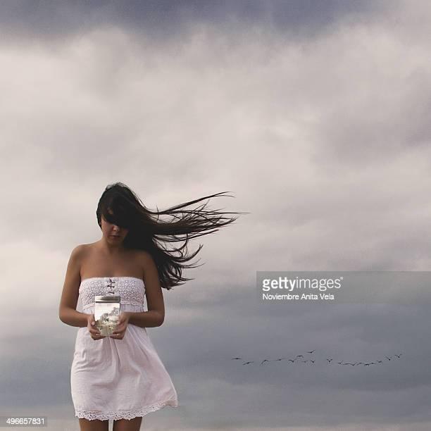 in the sky - alcazar de san juan - fotografias e filmes do acervo