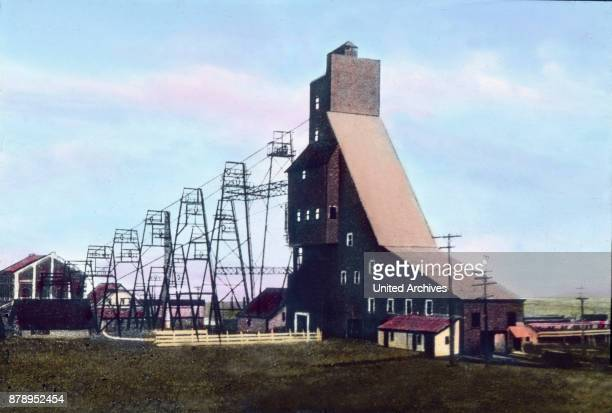 In the state of Michigan are many mines here is a typical shaft and conveyor system