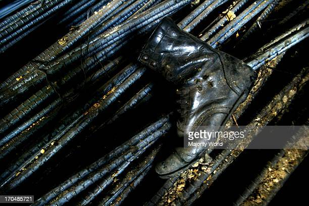 In the steel rerolling mills some workers get two pairs of shoes for a month Due to intense heat a pair of shoes last only 10 or 15 days Part of the...